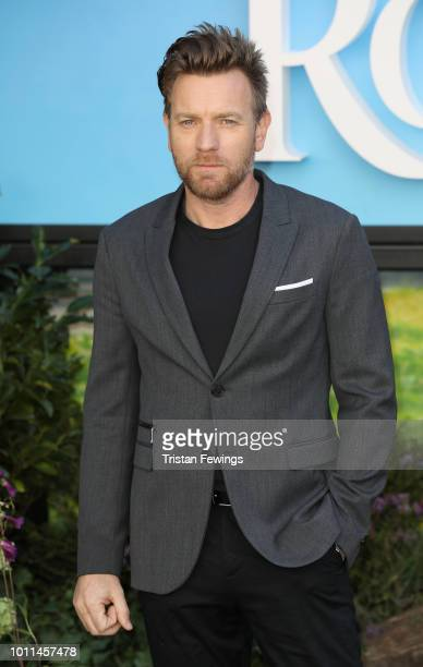 Ewan McGregor attends the European Premiere of 'Christopher Robin' at BFI Southbank on August 5 2018 in London England