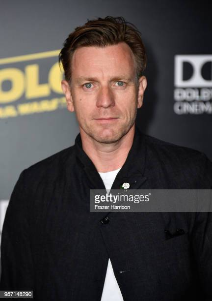 Ewan McGregor attends the premiere of Disney Pictures and Lucasfilm's Solo A Star Wars Story at the El Capitan Theatre on May 10 2018 in Los Angeles...