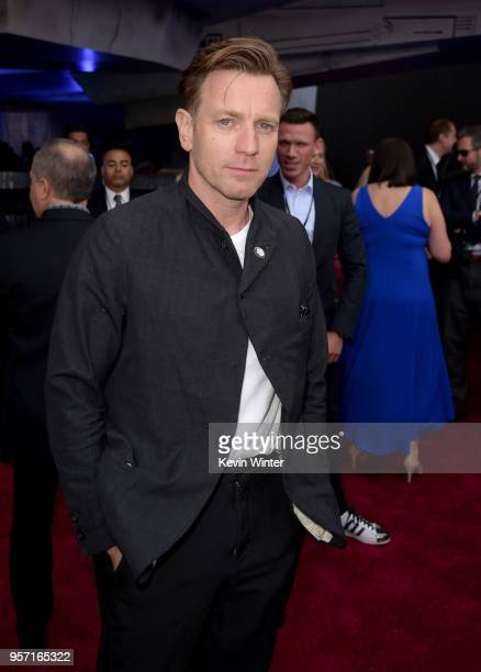 Ewan McGregor attends the premiere of Disney Pictures and Lucasfilm's Solo A Star Wars Story at the El Capitan Theatre on May 10 2018 in Hollywood...