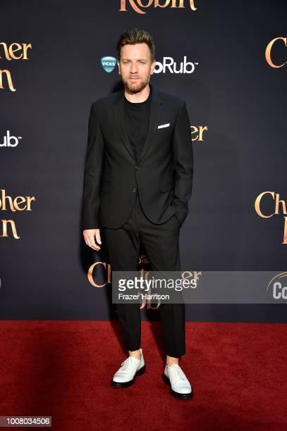 Ewan McGregor attends the premiere of Disney's 'Christopher Robin' at Walt Disney Studios on July 30 2018 in Burbank California