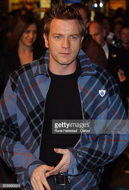Ewan McGregor attends the premiere of 'Robots' at Vue Leicester Square
