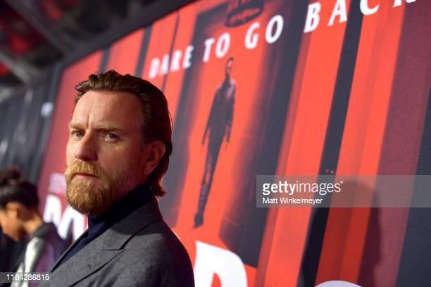 Ewan McGregor attends the premiere of Warner Bros Pictures' Doctor Sleep at Westwood Regency Theater on October 29 2019 in Los Angeles California