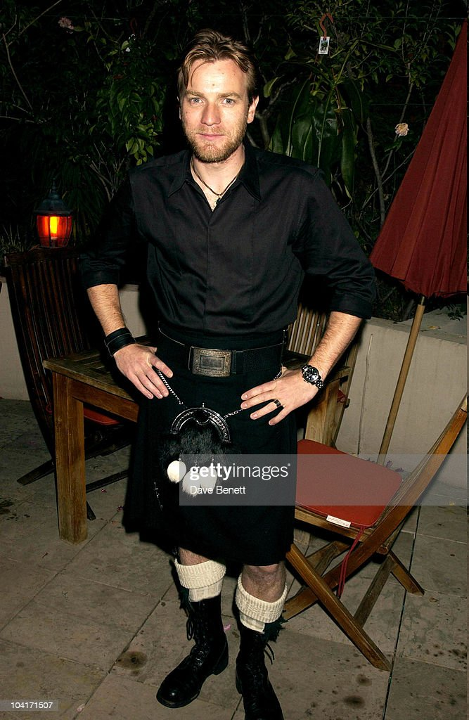 Ewan Mcgregor, Cannes Party For The Movie 'Young Adam', Cannes Film Festival, Cannes, France