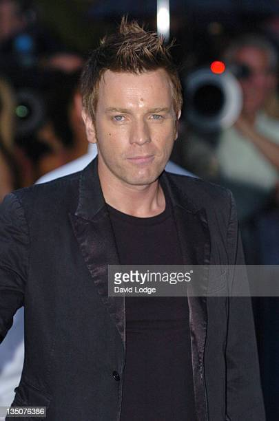 Ewan McGregor during 'Miami Vice' London Premiere Outside Arrivals at Odeon Leicester Square in London Great Britain