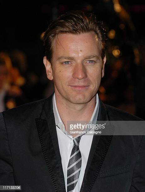 Ewan McGregor during Miss Potter London Premiere Arrivals at Odeon Leicester Square in London Great Britain