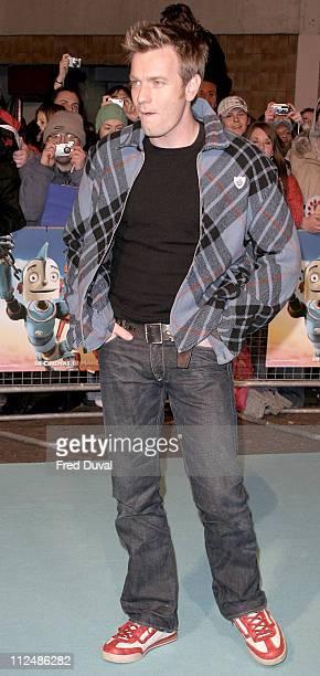 Ewan McGregor during 'Robots' London Premiere at Vue Cinema in London Great Britain
