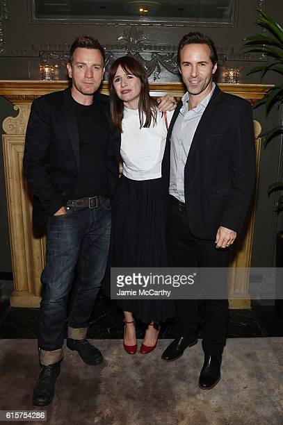 Ewan McGregor Emily Mortimer and Alessandro Nivola attend the after party for 'American Pastoral' hosted by Lionsgate Lakeshore Entertainment and...