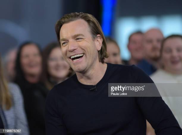 Ewan McGregor is a guest on Good Morning America Wednesday February 5 2020 on ABC GMA20 EWAN
