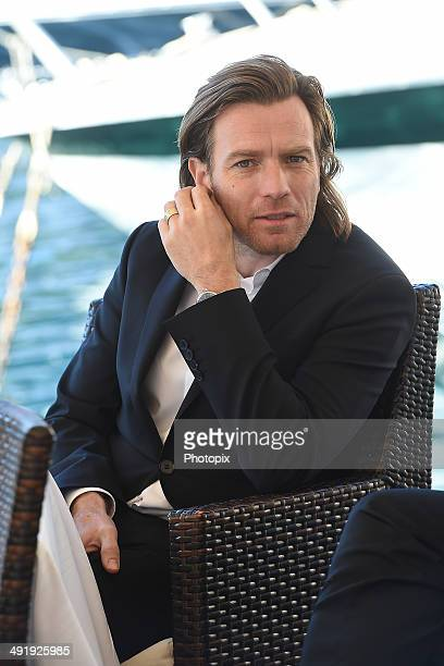 Ewan McGregor is seen while filming for the International Watch Company on May 18 2014 in Portofino Italy