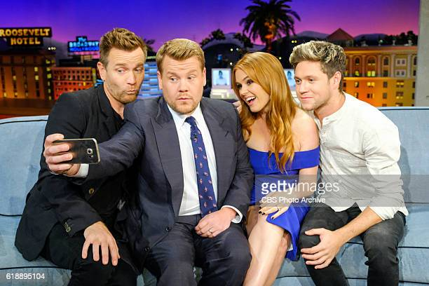 Ewan McGregor Isla Fisher and Niall Horan chat with James Corden during 'The Late Late Show with James Corden' Wednesday October 26 2016 On The CBS...