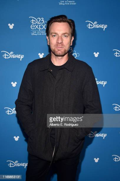 Ewan McGregor of 'Untitled ObiWan Kenobi Series' took part today in the Disney Showcase at Disney's D23 EXPO 2019 in Anaheim Calif 'Untitled ObiWan...