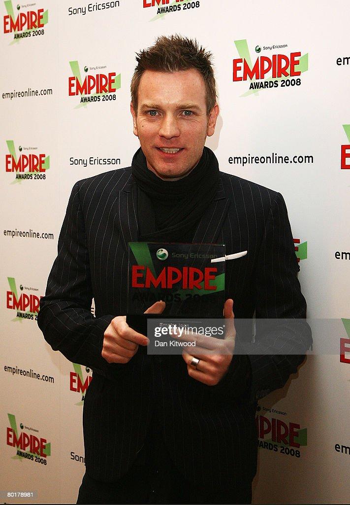 Sony Ericsson Empire Film Awards: Winners Boards : News Photo