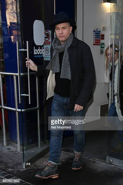 Ewan McGregor seen at Capital Radio on January 24 2017 in London England