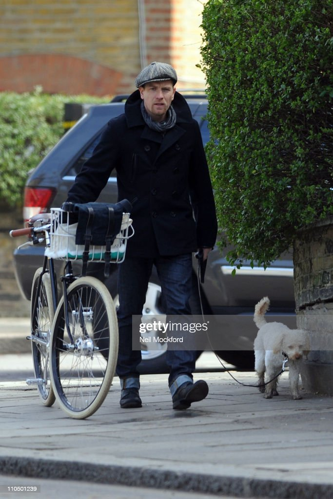 Ewan McGregor sighted in Primrose Hill on March 21, 2011 in London, England.