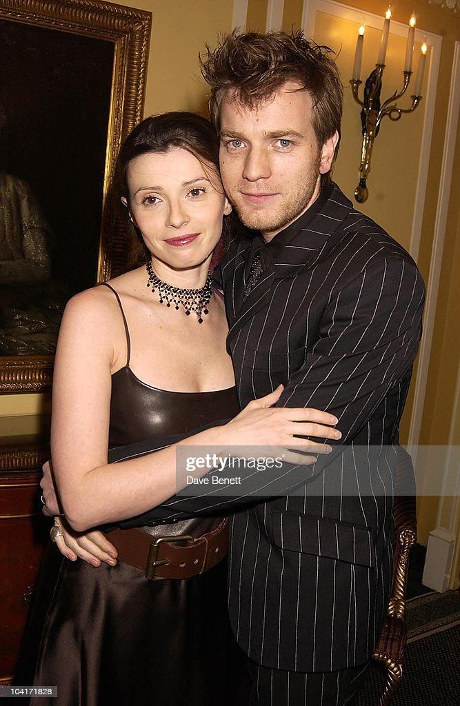 Ewan Mcgregor & Wife Eve, London Film Critics Circle Awards 2002, At The Dorchester Hotel, London
