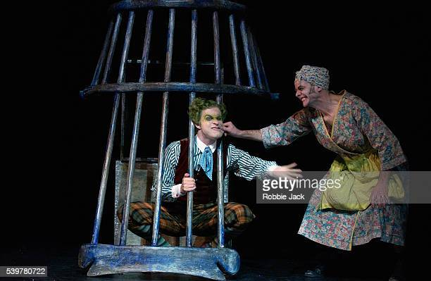 Ewan Wardrop and Luke Heydon in the production The Wind in the Willows at the Linbury Studio Theatre