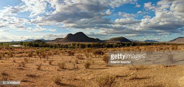 Ewaso Uaso Nyiro River In Samburu National Reserve Kenya
