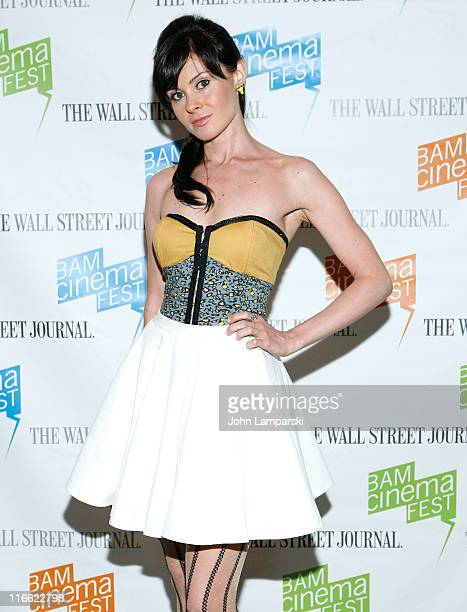 Ewelina Ferruso attends the 2011 BAMcinemaFest opening night at the BAM Rose Cinemas on June 16 2011 in New York City