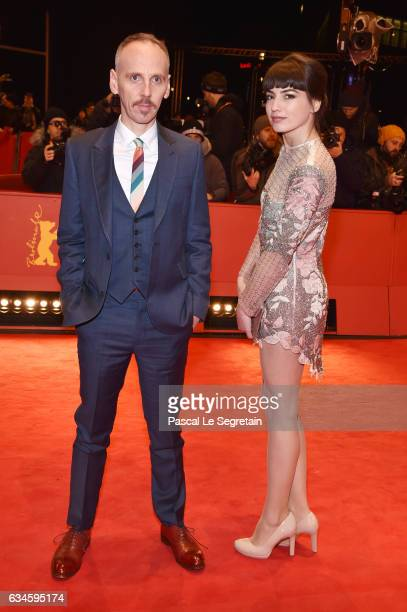 Ewen Bremner and Anjela Nedyalkova attend the 'T2 Trainspotting' premiere during the 67th Berlinale International Film Festival Berlin at Berlinale...