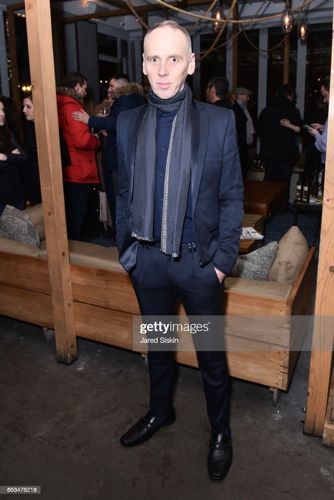 Ewen Bremner attends TriStar Pictures & The Cinema Society with 19 Crimes Host the After Party for 'T2 Trainspotting' at Mr. Purple at the Hotel Indigo LES on March 14, 2017 in New York City.