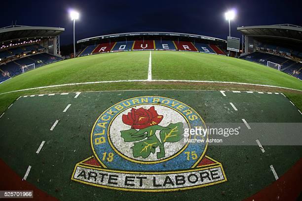 Ewood Park the home stadium of Blackburn Rovers
