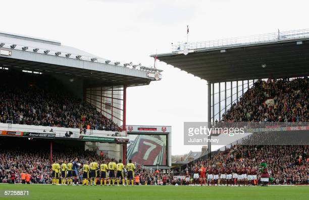 Ex Arsenal player David Rocastle is remembered before the Barclays Premiership match between Arsenal and Aston Villa at Highbury on April 1 2006 in...