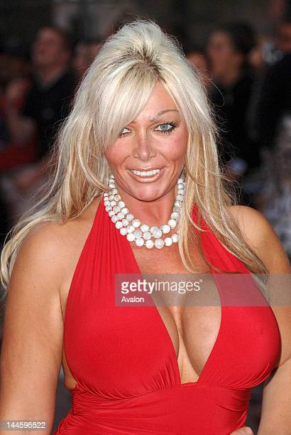 Ex Big Brother Housemate Lea Walker attending You Me and Dupree UK film premiere Odeon Leicester Square London August 22nd 2006 Job 14911