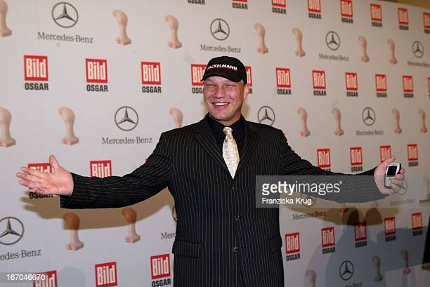 Ex Boxer Axel Schulz Bei Der Ankunft Zur 11 Osgar Verleihung Der Bildzeitung Im Neuen Rathaus In Leipzig Am 110304