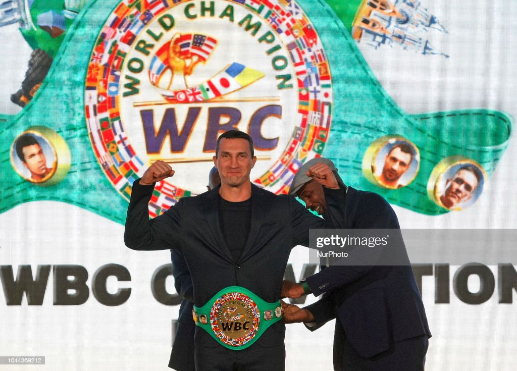 Ukraine Sport Boxing WBC Convention : News Photo