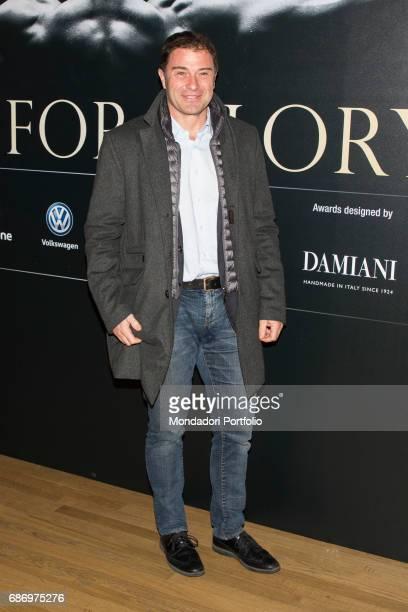 Ex canoeist Antonio Rossi at the event Gazzetta Sports Awards 2016 at Unicredit Pavillon in Milan Milan Italy 14th December 2016