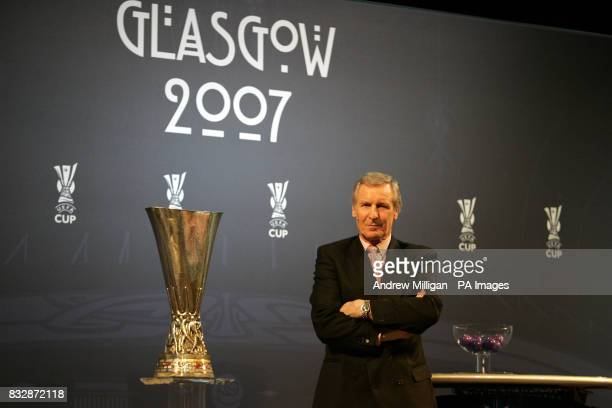 Ex Celtic player Billy McNeill during the UEFA Cup Handover and Final Phase Draw held at the historic Old Fruitmarket at the City Halls in Glasgow