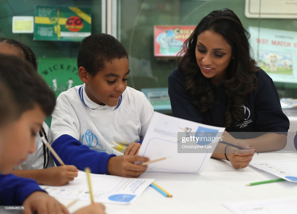 Cricket World Cup Schools Programme - Lord's : News Photo