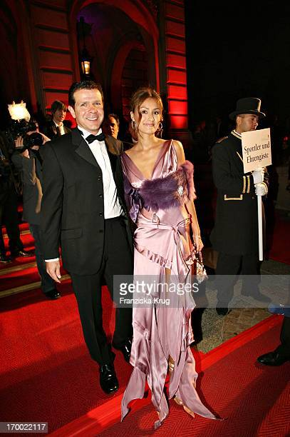 Ex footballer Andy Möller and wife Sigrid Horn In 24th German Sportpresseball On In The Old Opera House in Frankfurt 291005