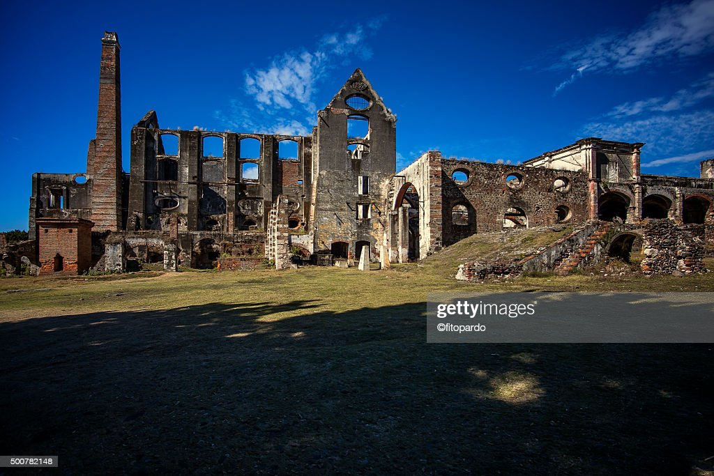 Ex hacienda Coahuixtla : Stock Photo