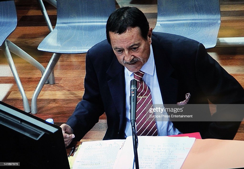 Julian Munoz Attends Marbella Corruption Trial