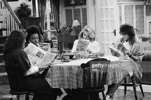LIFE Ex Marks the Spot Episode 20 Pictured Mindy Cohn as Natalie Green Kim Fields as Dorothy 'Tootie' Ramsey Lisa Whelchel as Blair Warner and Nancy...