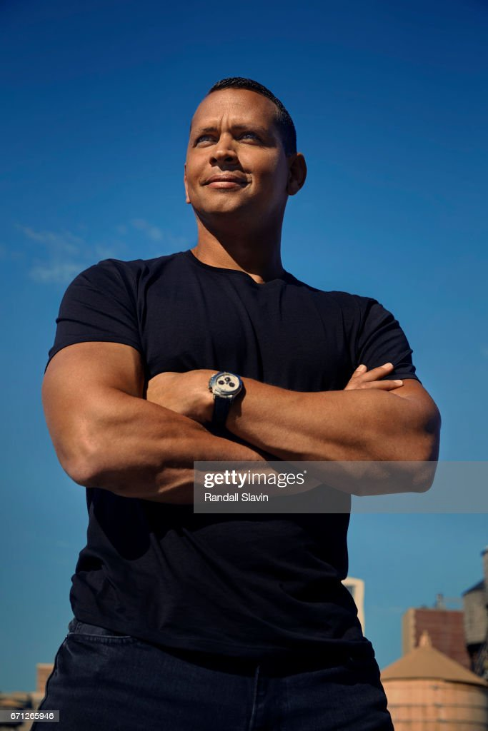 Ex professional baseball player Alex Rodriguez is photographed for Ocean Drive Magazine on September 7, 2016 in New York City.
