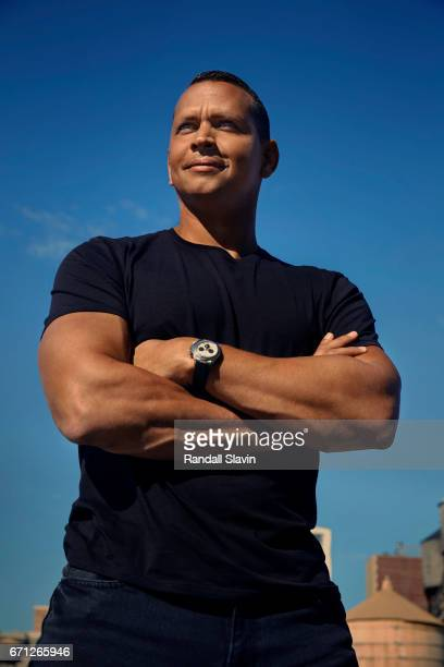 Ex professional baseball player Alex Rodriguez is photographed for Ocean Drive Magazine on September 7 2016 in New York City