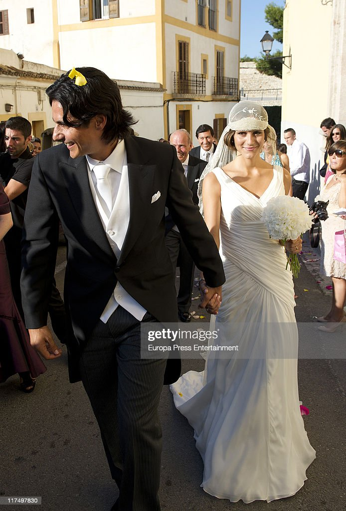 Nicolas Lapentti and Maria Garcia Wedding In Ibiza - June 27, 2011