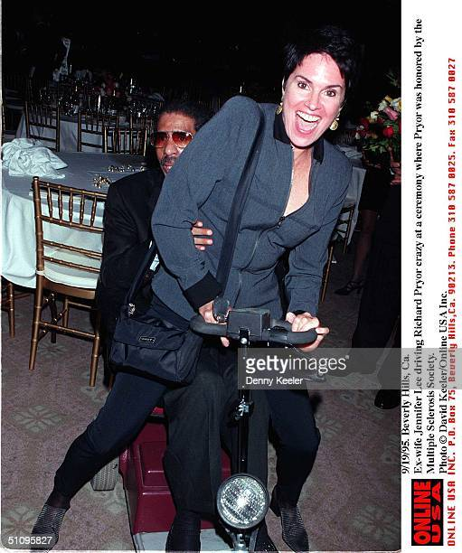 Ex Wife Driving Him Crazy At Ceremony Honoring Richard Pryor By The Multiple Sclerosis Society