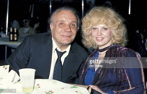 Ex Wife Vikki and Jake LaMotta during Jake LaMotta and Vikki LaMotta Sighting 1984 United States