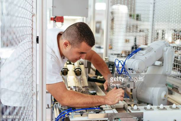 デュ ブラジャー robotisé dans 産業博物館