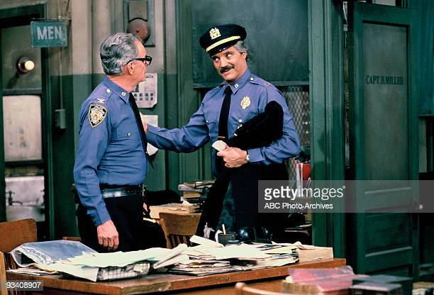 MILLER Examination Day Season Eight 1/14/82 Luger and Barney were forced back into uniform while the rest of the force took the sergeant's exam