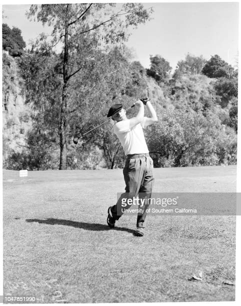 Examiner Junior Golf 21 June 1955 Bill SeanorTommy SelfPhil RodgersDick FooteAl Geiberger Sports Caption slip reads 'Photographer Miller Assignment...