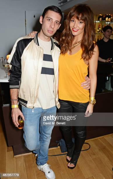 Example and Erin McNaught attend the end of show party for the 'Teenage Cancer Trust Concerts at the Royal Albert Hall' hosted by The Groucho Club on...
