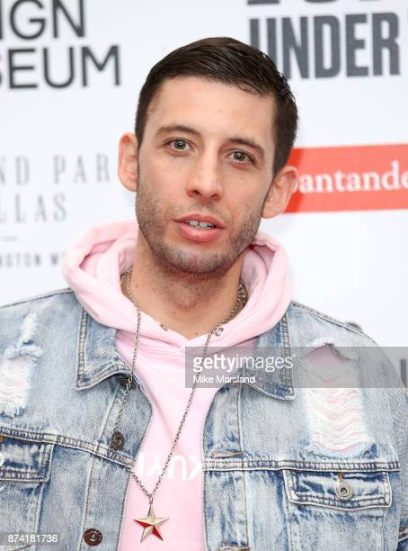 Example attends Ferrari Under the Skin hosted by Deyan Sudjic and Alice Black Directors of the Design Museum and Dylan Jones Editor of GQ at the...