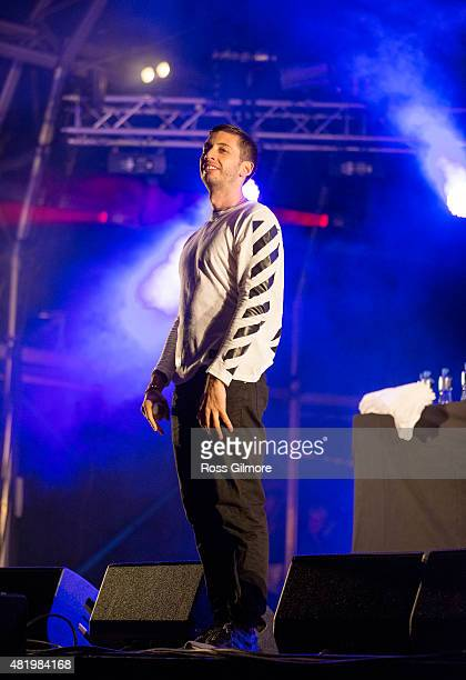 Example headlines the main stage at the Wickerman festival at Dundrennan on July 25, 2015 in Dumfries, Scotland.