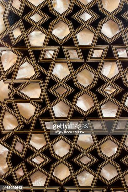 example of mother of pearl inlays - marquetry stock photos and pictures