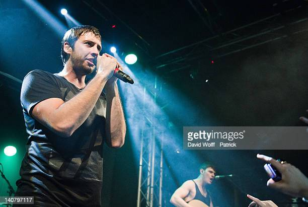 Example performs at La Fleche d'Or on March 6 2012 in Paris France