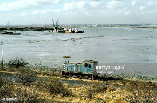 CONTENT] ExBR class 03 No03027 by then in the ownership of Queenborough Rolling Mills Ltd heads for the Shipbreaker's Ltd wharf on the River Swale to...